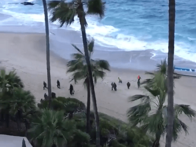 Migrants Land Boat on California Beach 100 Miles from Border