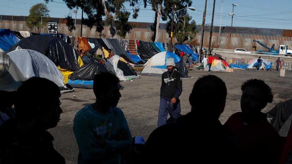 Migrants put US asylum plans on hold as they seek temp jobs in Tijuana