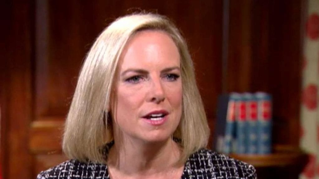 Tough border stance has DHS boss Kirstjen Nielsen back in Trump's good graces, reports say