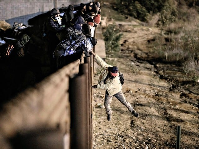 'Violent Mob' Attacked Agents at Border Near San Diego