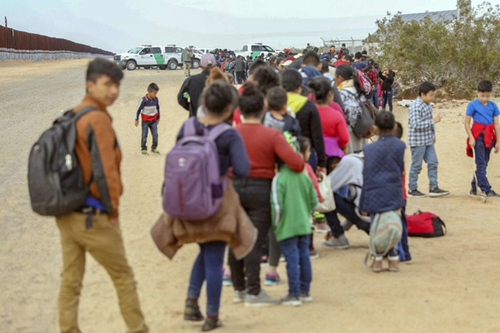 Asylum seekers at southern border to be sent back to Mexico, US officials say