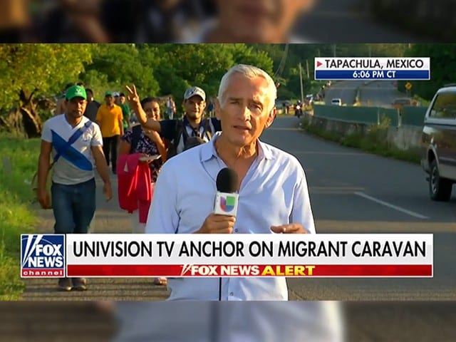 Jorge Ramos: Border Wall 'Symbol of Hate and Racism' for 'Those Who Want to Make America White Again'