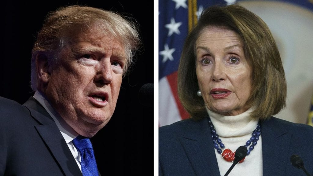 Trump challenges Pelosi on why she wants to keep border walls she calls 'immoral'