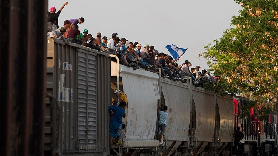 Border Patrol union chief blasts Congress over migrant caravans: 'What are you doing about it?'