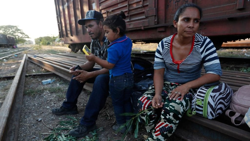 Migrant caravan goes global, attracts refugees from across world trying to enter US