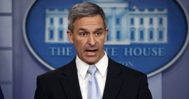 Ken Cuccinelli Gains in Race to Replace Departing DHS Chief | Breitbart