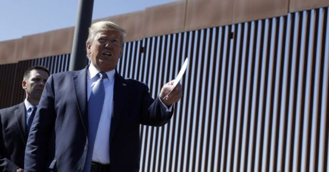 Trump's Next DHS Chief Tasked with Completing 400 Miles of Border Wall