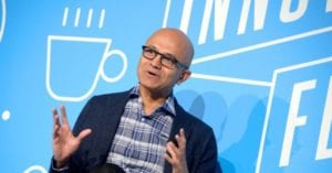 Microsoft CEO: 'America a Country of Immigrants, Formed by Immigrants'